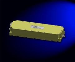 High-Power Broadband Gallium Nitride RF Amplifier: SSPA 0.020-6.000-35