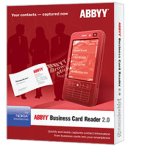 Abbyy announces business card reader application for nokia smartphones reheart Image collections
