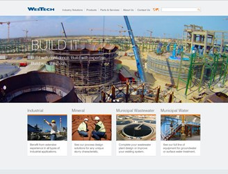 WesTech Website
