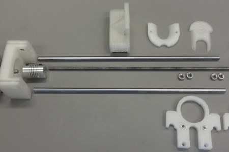 3D Printable Syringe Pump Design Lowers Lab Costs