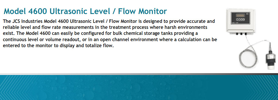 Model 4600 Ultrasonic Level/Flow Monitor