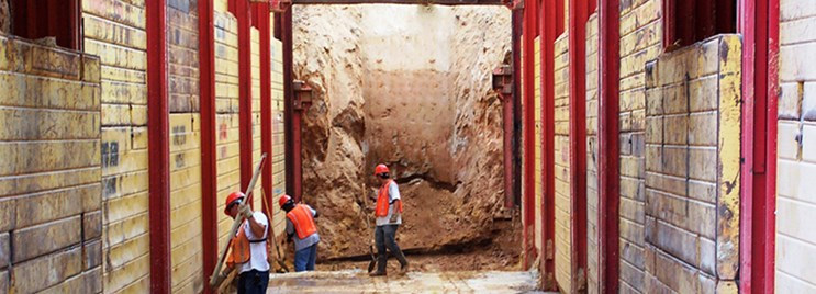 Trench Shoring Rental, Sales And Service