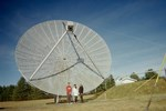 Students Use Steerable Radio Telescope To Study The Universe