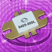 0405-500L: UHF Transistor For Long Pulsed Radar Applications