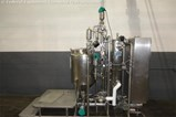 Used Custom Stainless Steel Fabricating CIP Skid System