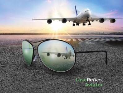 Laser Reflection Glasses: LaseReflect™ Aviator