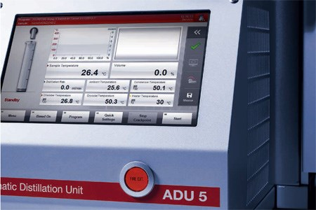 Compact Automatic Distillation Unit: ADU 5