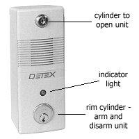 Detex Exit Alarm  sc 1 st  Hospitality Leader Online & Detex Exit Alarm - U.S. Builder Supply
