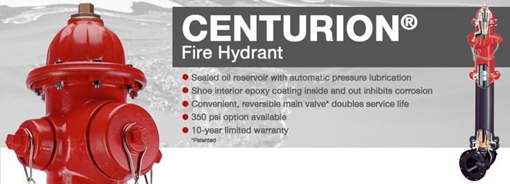 Mueller® Centurion 250™ Fire Hydrant