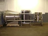 Used 150 Fluid Air Fluid Bed Dryer, S/S
