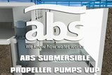 ABS Submersible Propeller Pumps VUP - Installation Animation