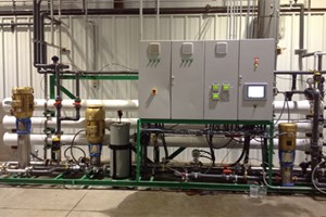 Reverse Osmosis System Eliminates Massive Waste Removal Costs