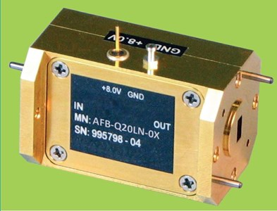 Full Waveguide Q-Band Low Noise Amplifier: AFB-Q20LN-0X