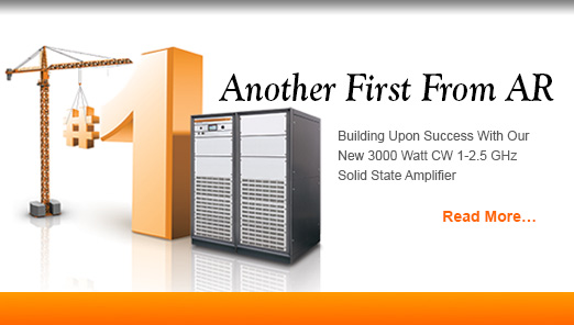 80-1000 MHz Class A Solid State Amplifiers: W Series, 250-2000 Watts