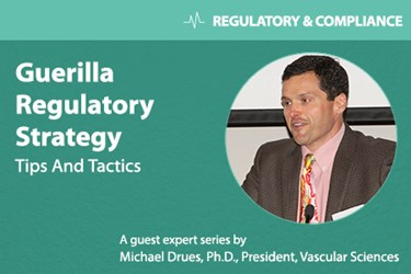 Michael Drues - Guerrilla Regulatory Strategy