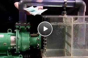 Video Demonstration: Vaughan Chopper Pump — Wipes vs. Diapers