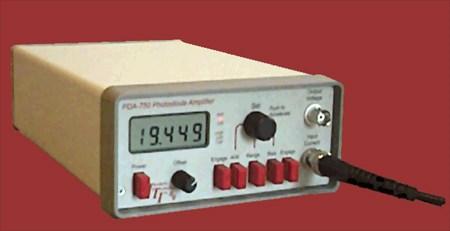 Fiber Optic Measurement: Photodiode Amplifier PDA-750