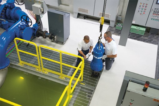 Sulzer Pumps Reduce Downtime At Water Utility