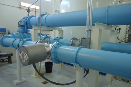 Municipal Drinking Water Facility Installs UV System To Deactivate Cryptosporidium And Giardia