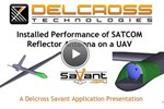 Modeling The Installed Performance Of A SATCOM Antenna On A UAV