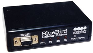 BlueBird AMPS Modems