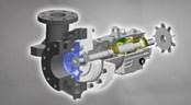 API 610 Horizontal Process Pump — Model PWH
