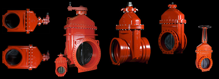 """14"""" - 66"""" Series 2500 Resilient Wedge Gate Valve"""