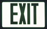 AddLight Sign Mask™ EXIT sign