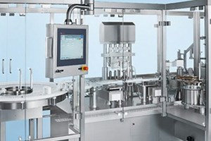 Filling and Closing Equipment for Vials and Injection Bottles: MLF 4000