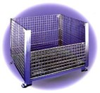 Rigid Wire Mesh Containers