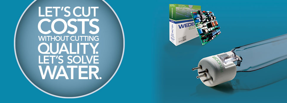 WEDECO ECORAY® UV Lamp