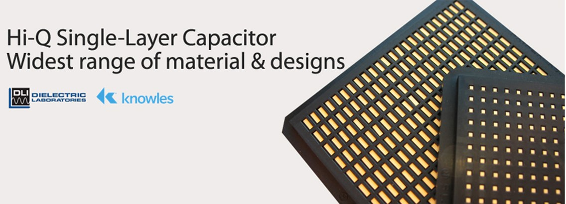 Hi Q Single Layer Capacitors