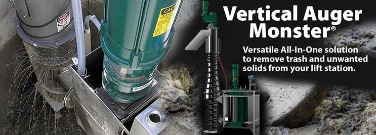 Vertical Auger Monster Model AGV