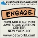 Customer Engagement Technology World (CETW), November 6 And 7, New York, NY