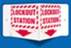 3-D Sign Lockout Station
