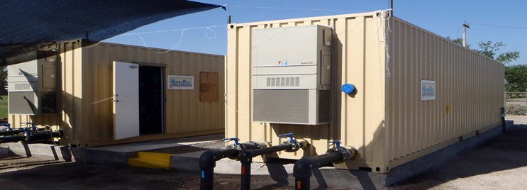 WaterPOD™ Packaged Containerized Treatment Units