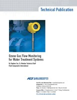 Technical Article: Ozone Gas Flow Monitoring For Water Treatment Systems