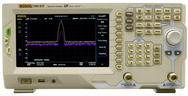 Spectrum Analyzer for RF and Wireless Testing and Production: DSA800 Series