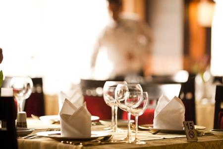 Restaurant And Hospitality IT News For VARs November - Fancy restaurant table