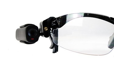 Vidcie Lookout Camera 5_Clip to eye glasses frame