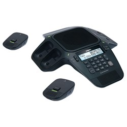 ErisStation Conference Phone With Wireless Mics