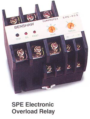 SurProtex Electronic Overload Relay on