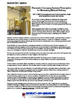 Case Study: Pneumatic Conveying Systems Prescription For Maximizing Material Delivery