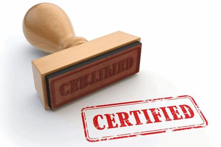 Image result for certification