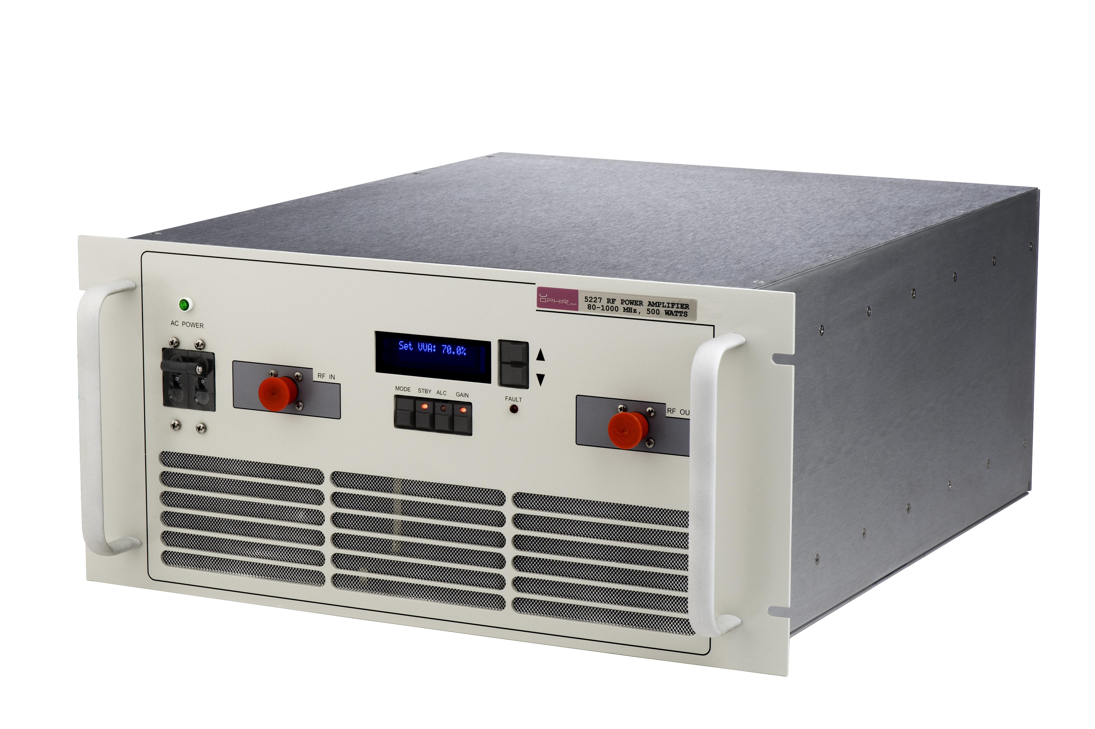 Broadband Rf Power Amplifier Model 7000 Amp Image