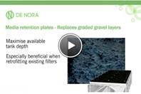 TETRA&reg LP Blocks™: Dual Parallel Lateral Clean Water Filter Floor