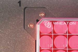 2D Bar Code Reader For Storage Vials