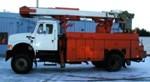 Asplundh bucket truck