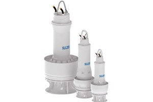 Submersible Mixed Flow Column Pump Type ABS AFLX PE4 To PE6