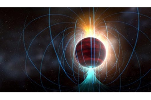 Cool, Dim Dwarf Star Is Magnetic Powerhouse